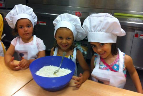 Participantes Pequeños Chefs