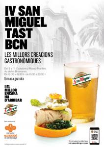 Cartel San Miguel Tast Bcn 2015