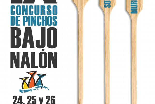 CARTEL PINCHOS BAJO NALON 2017